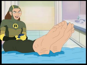 Commission - Shrinking Rae Feet