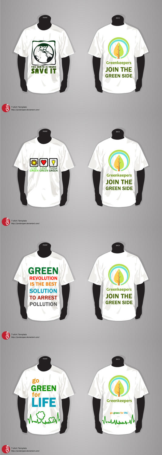 Eco friendly t shirt designs by vivsters on deviantart for Environmentally friendly t shirts