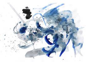 ink splatter 1 by vivsters