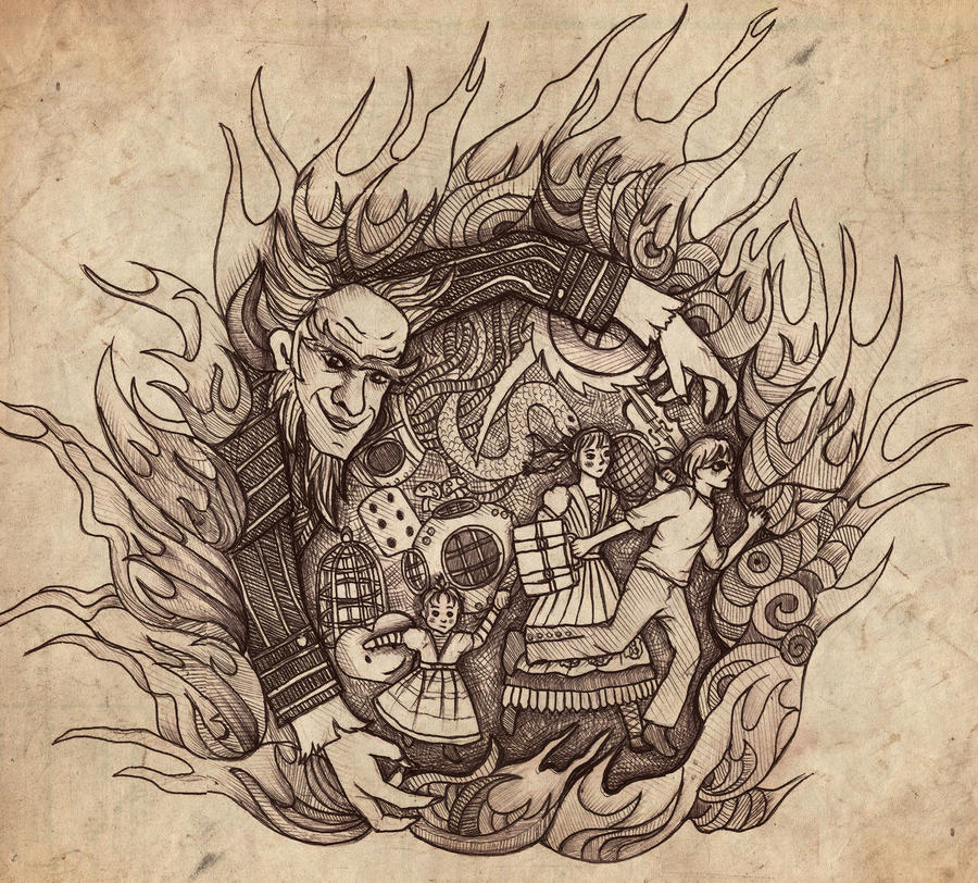 A Series of Unfortunate Events by vivsters on DeviantArt
