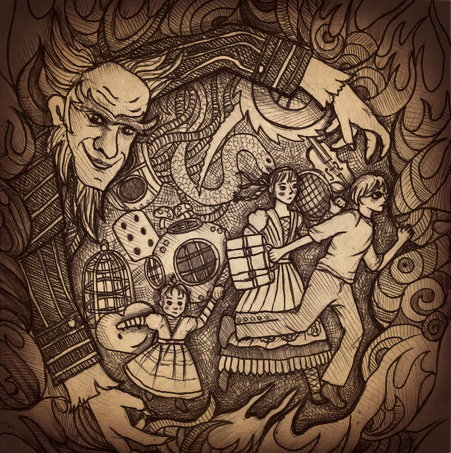 Series Of Unfortunate Events Illustrations