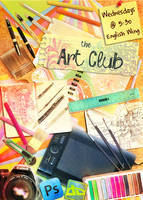 Art Club Poster by vivsters