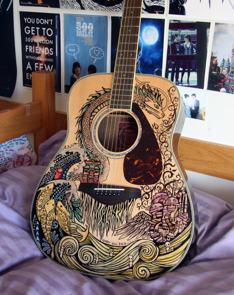 Ghibli Guitar by vivsters