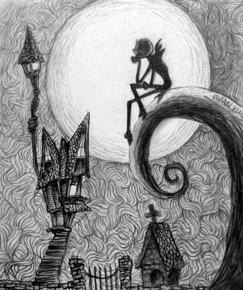 Nightmare Before Christmas By Vivsters On Deviantart