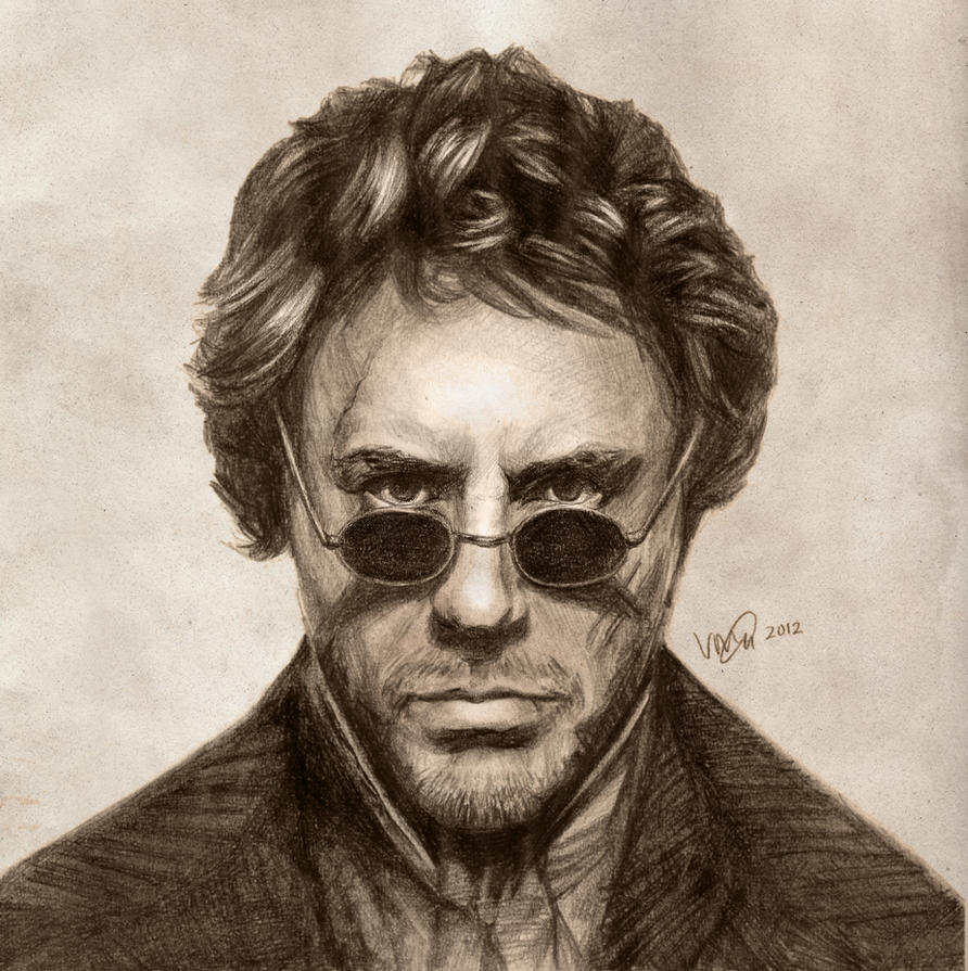 Robert Downey Jr: Sherlock Holmes by vivsters on DeviantArt