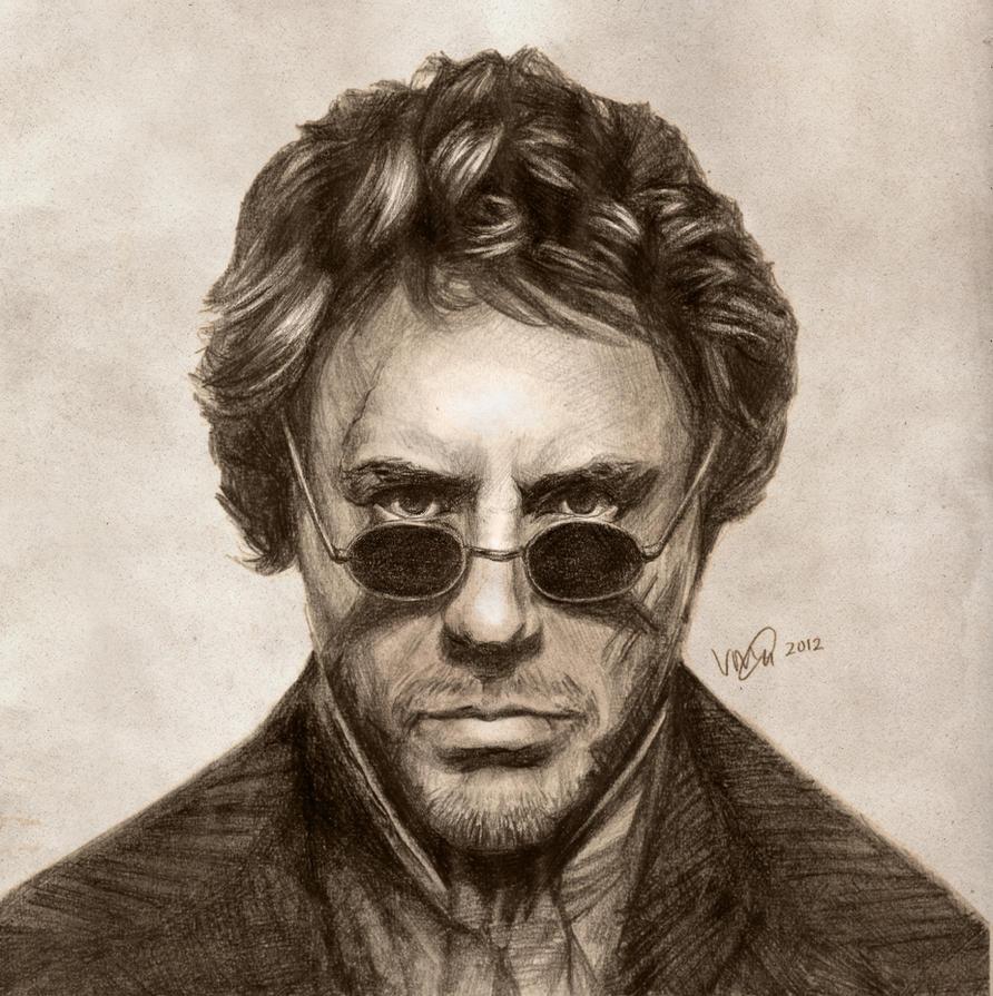 Robert Downey Jr: Sherlock Holmes by vivsters on DeviantArt
