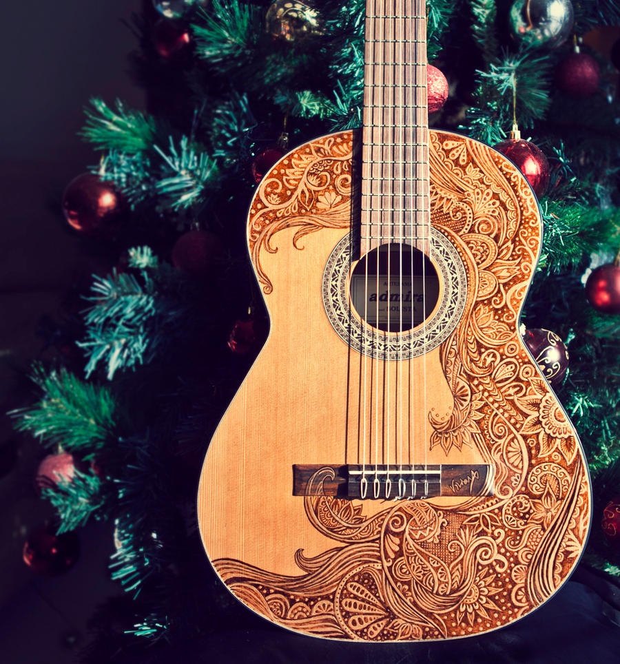 Guitar Design by vivsters