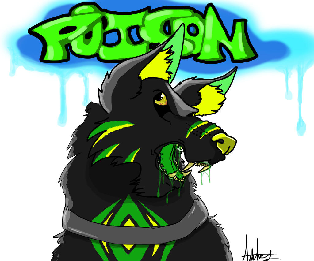 Poison Wolf by wolf-karpova