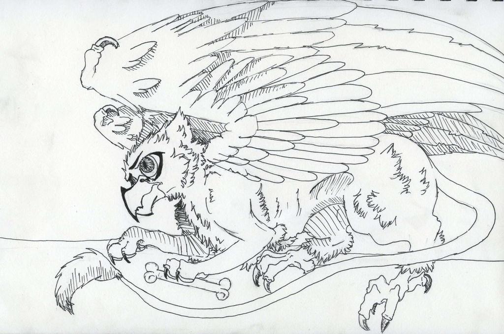 Griffian by wolf-karpova