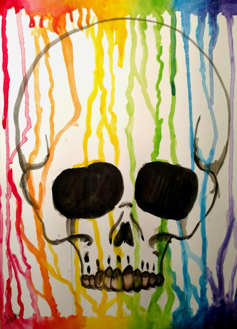 Vibrant Death by wolf-karpova