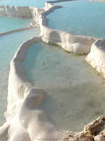 Pamukkale Pools by gianf