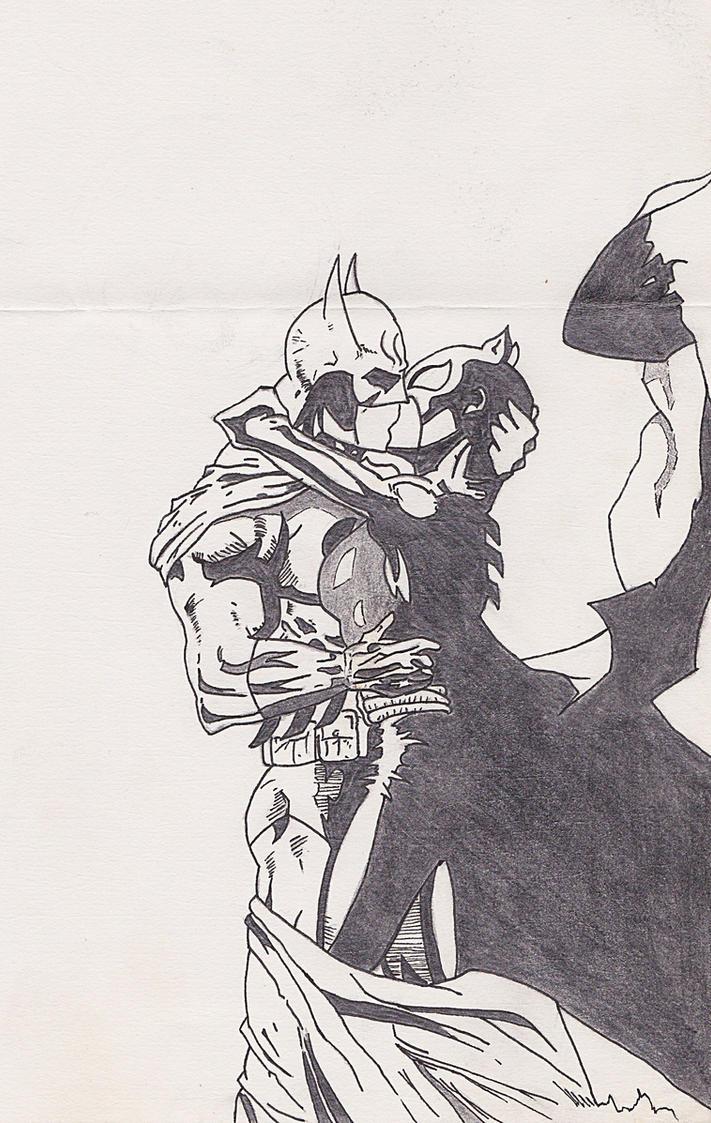 2020 Other Images Batman Catwoman Kiss Wallpaper