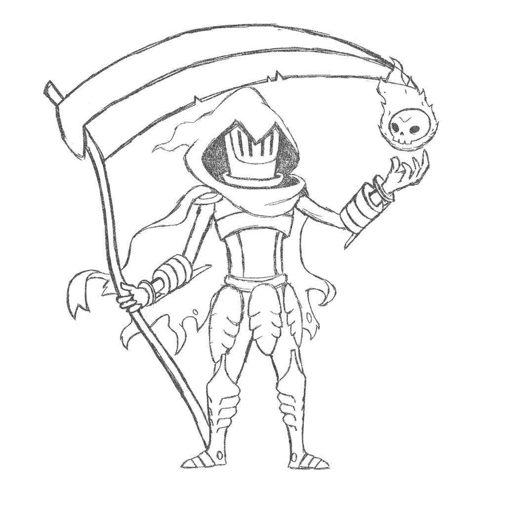 Velegry 6 0 Specter Knight Sketch By