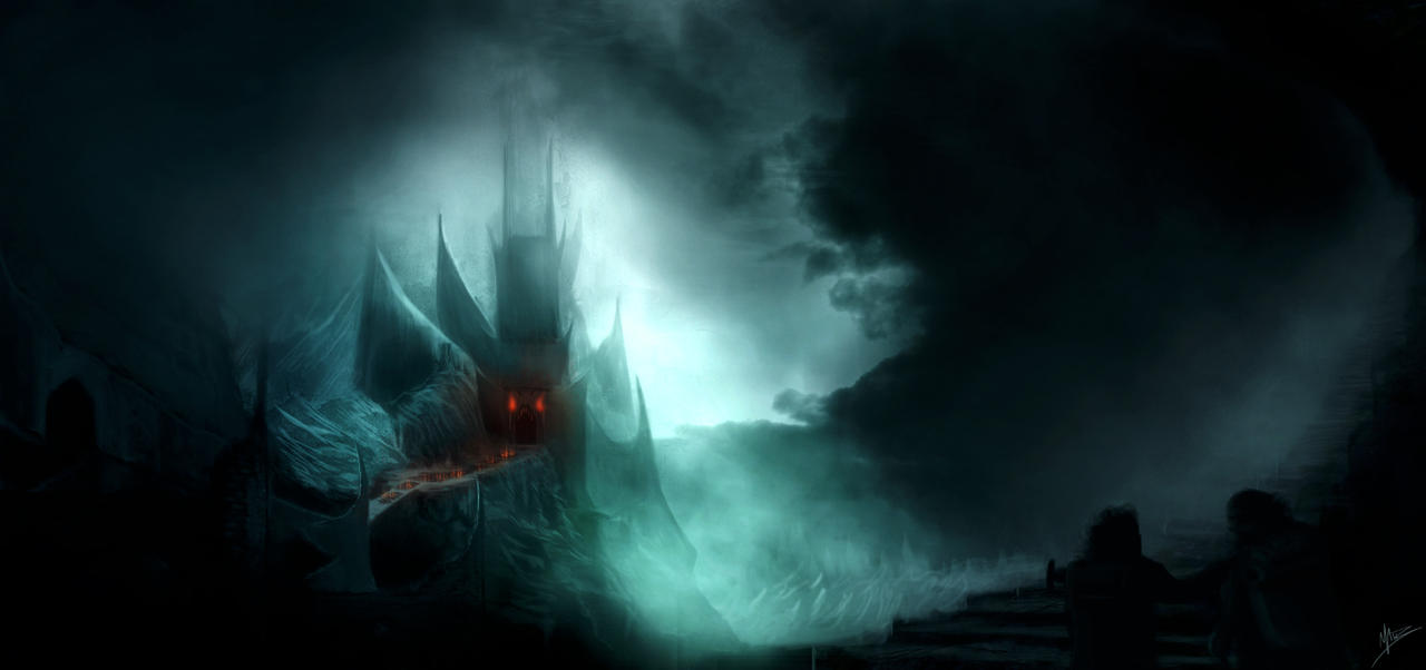 Minas Morgul Speed Paint by MattBurton
