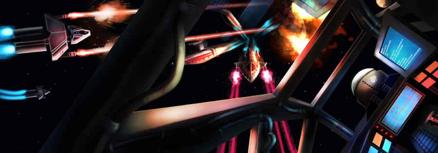 Fleet Battle by MattBurton
