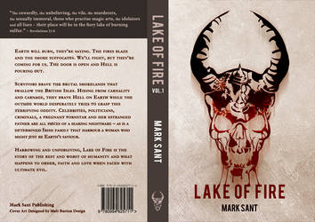 Lake Of Fire - Volume One.  Book Cover Design