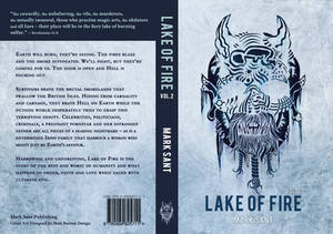 Lake Of Fire - Volume Two. Book Cover Design