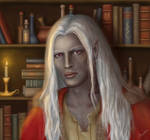 Young Drow Wizard