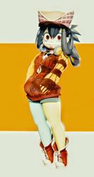 Asui tsuyu from boku no hero