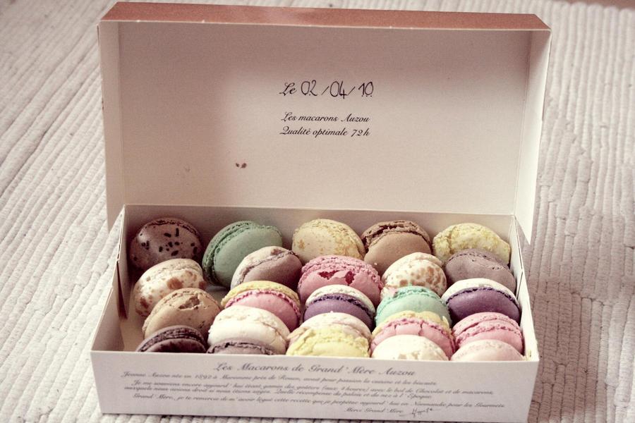 Macarons by Princesse-de-la-mer