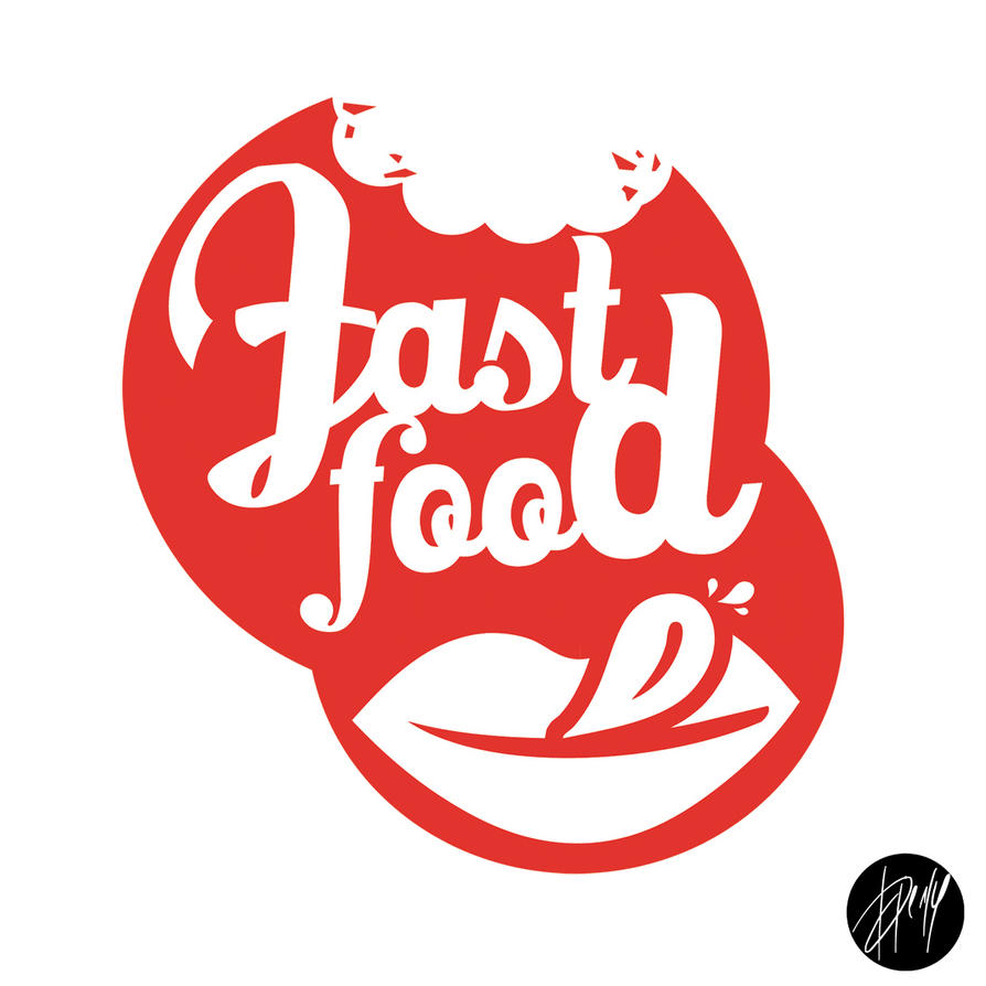 FAST FOOD - LOGO by Canforaaa on DeviantArt