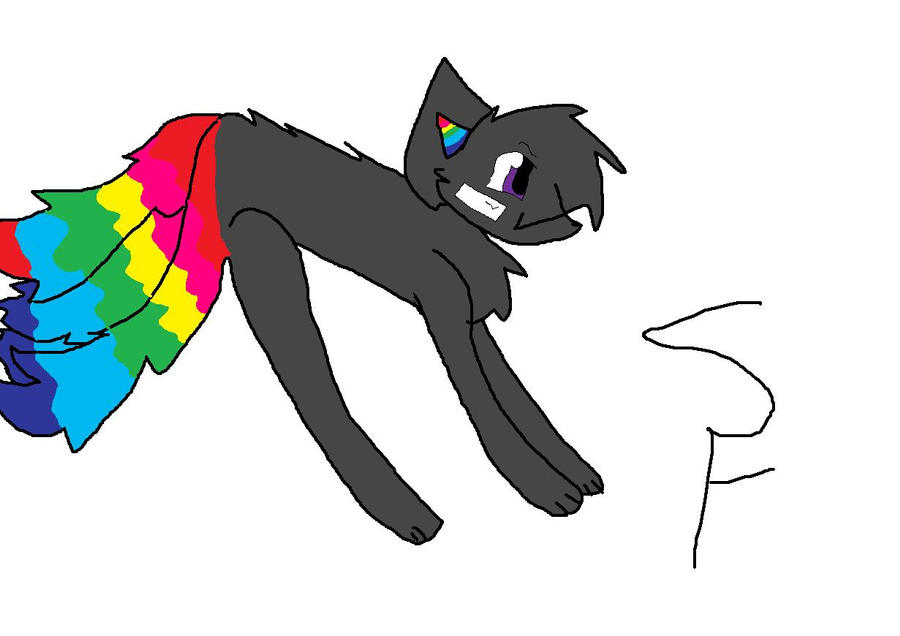 For Kitsune Rainbow Adopt Draw To Adopt! by Snowflame132