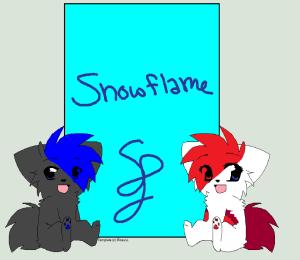 Snowflame132's Profile Picture