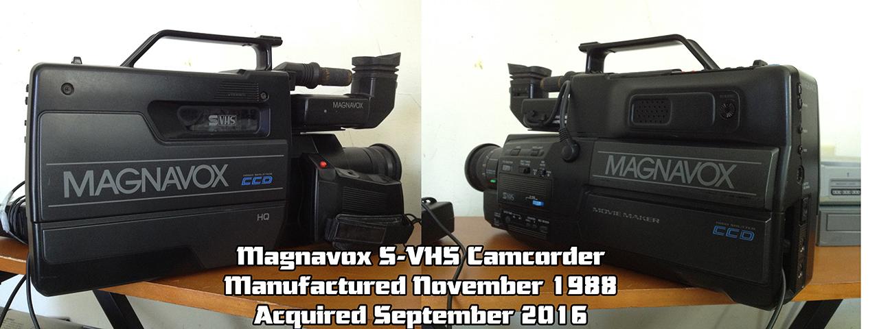 Magnavox S-VHS Camcorder - The Movie Maker by Arufa-Dansei