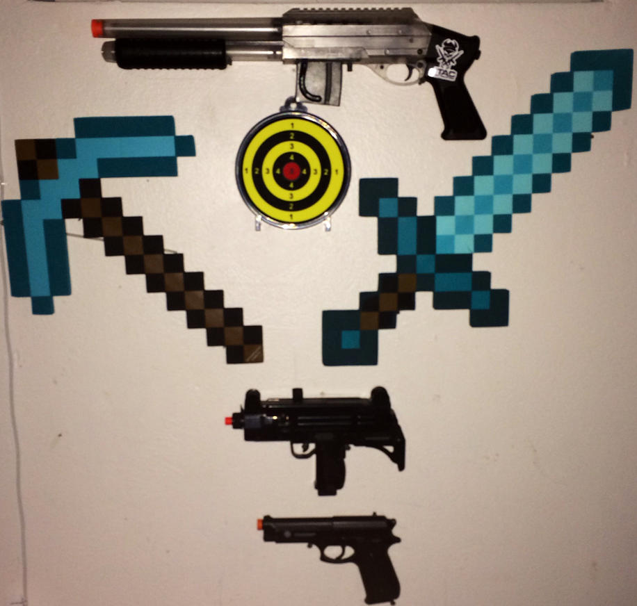 Weapon wall 1 by ReallyHerobrine