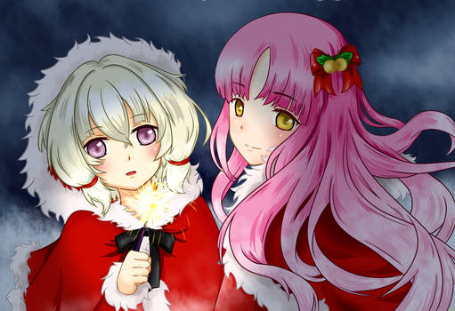 Shion and Calynda - Merry Xmas