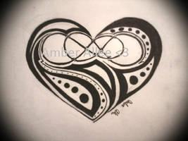 Double infinity heart