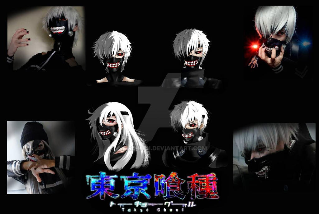 kaneki cosplayers (fan arts) by NEIRU-kUn