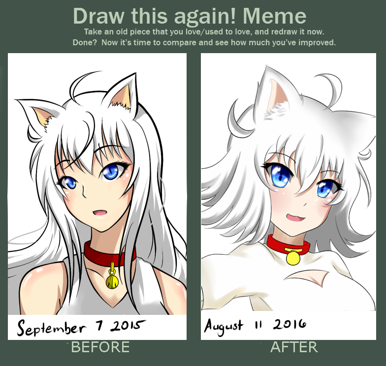 Yukiko Before and after by NEIRU-kUn