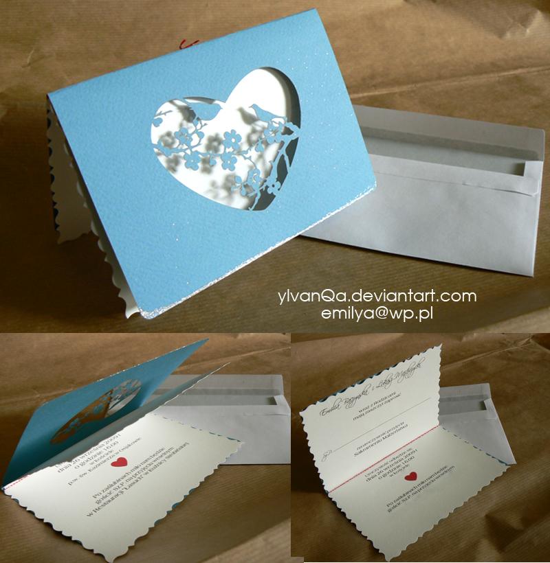 weddings card by Ylvanqa
