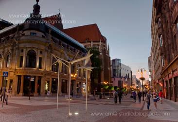 Wroclaw Swidnicka street by Ylvanqa