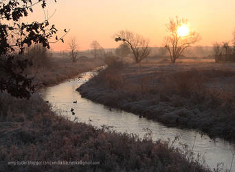 brim sun in the Polish countryside by Ylvanqa