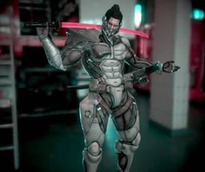 Metal Gear Sam Render 1 by cloverpuz