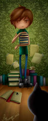 La Biblioteca De Dan by PauBuenoZ