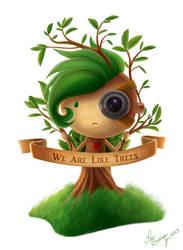 We Are Like Trees by PauBuenoZ