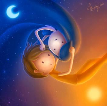 Sol Y Luna by PauBuenoZ