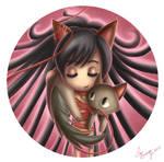 Gato bufanda