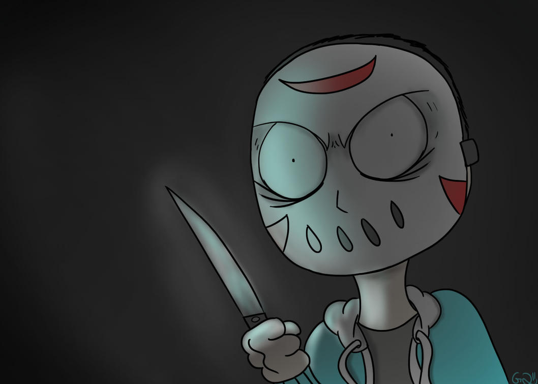 Knife To Meet You! (H2O Delirious) by Glasses2themax on ... H20 Delirious Drawings