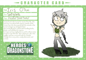 Character Card Iris by Glasses2themax