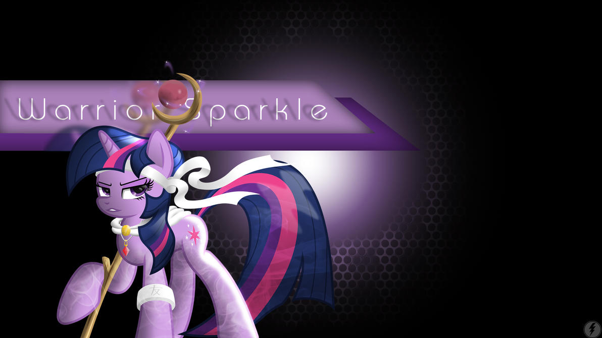 Warrior Sparkle Wallpaper by IIThunderboltII