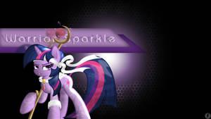 Warrior Sparkle Wallpaper