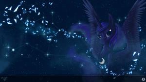 [COLLAB] Space Luna Wallpaper