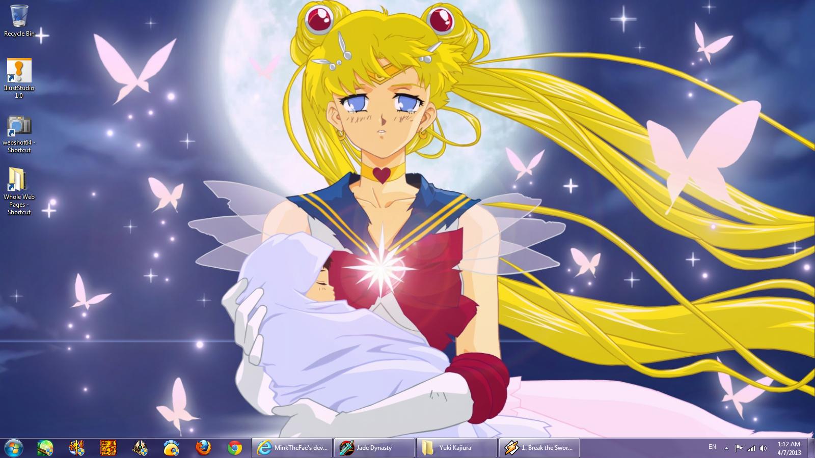 Desktop Screenshot 4.7.2013 by Iridescent-Princess
