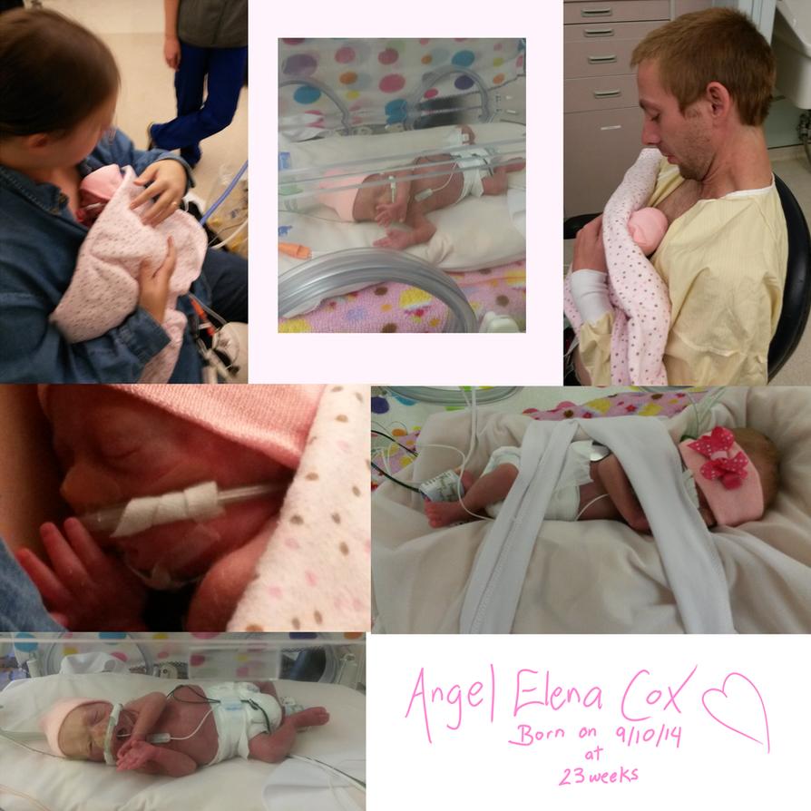 Angel Elena Cox on 10.18.2014 by Iridescent-Princess
