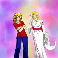 2009 Sheru and Lillith -request-