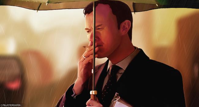 Mycroft Holmes. by CPBlasterDark